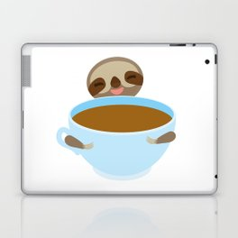 sloth & coffee Laptop & iPad Skin