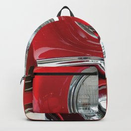 Red Classic Car Backpack