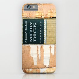 Moby Dick (or The Whale)  iPhone Case