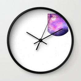 Tiny Rick Pocket Wall Clock