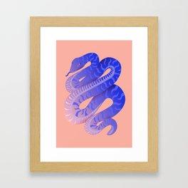 Night Serpent Framed Art Print