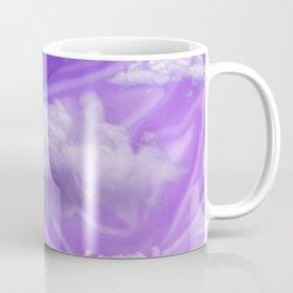 """Violet pastel sweet heaven and clouds"" Coffee Mug"
