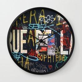 RUEDELA Wall Clock