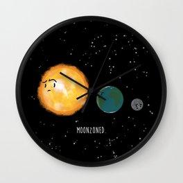 Moonzoned Wall Clock