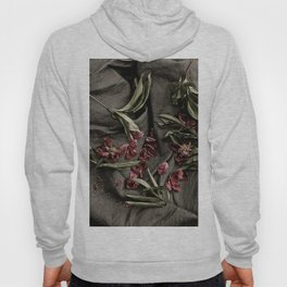 "Peonies are beautiful from the ""bud to to the end."" Hoody"