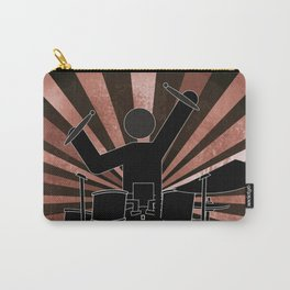 Drummer Stick Figure Carry-All Pouch