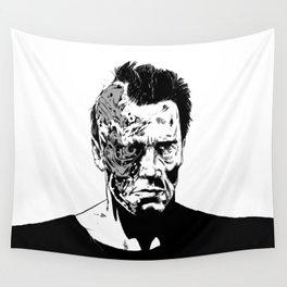 Terminator (b/w) Wall Tapestry