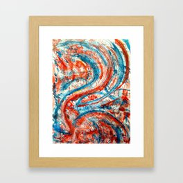 Cinnabar Framed Art Print