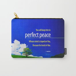 Perfect Peace Carry-All Pouch