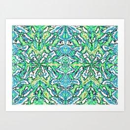 Digital Pattern v.1 Art Print