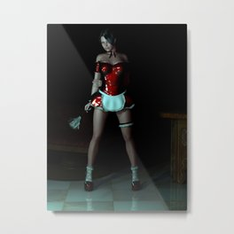 The Cleaner Metal Print