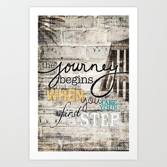 Journey Begins Art Print