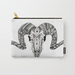 ARIES SKULL Carry-All Pouch