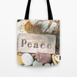 Peace by Mandy Ramsey Tote Bag