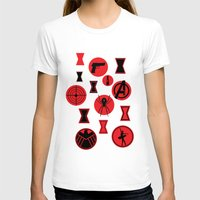 black widow T-shirts featuring Black Widow  by Page394