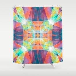 Fractal Prism Shower Curtain