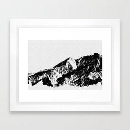 Mountains I Framed Art Print