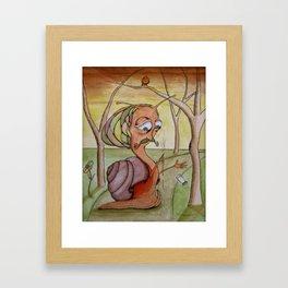Snarl Framed Art Print