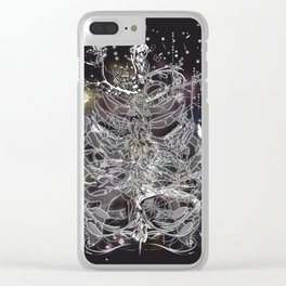 Skeleton of a human thorax II Clear iPhone Case
