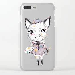 Adding Paint Clear iPhone Case