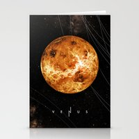 venus Stationery Cards featuring VENUS by Alexander Pohl