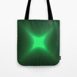 The Emerald Illusion Tote Bag