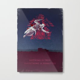 Ezio in Rome Metal Print