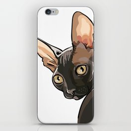 The Look - Cornish Rex iPhone Skin