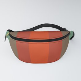 Rust Turquoise Spice 2 - Color Therapy Fanny Pack