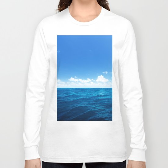 Quiet Sea Long Sleeve T-shirt