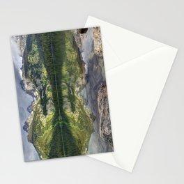 Bradley Lake Reflection - Grand Teton National Park Stationery Cards