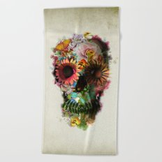SKULL 2 Beach Towel