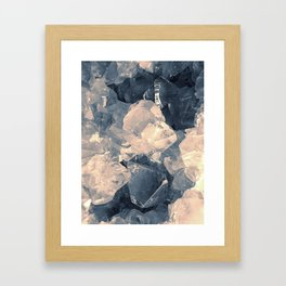 Crystal Blue Framed Art Print