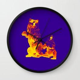 Ours Republique purple Wall Clock