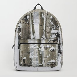 Winter Birch Forest Backpack