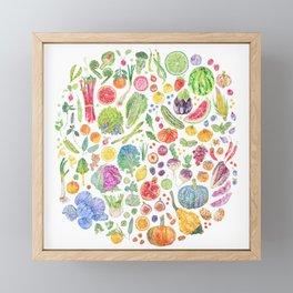 Seasonal Harvests Framed Mini Art Print