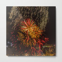 Firework collection 5 Metal Print