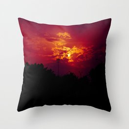 """""""With each sunrise, we start anew"""" Throw Pillow"""