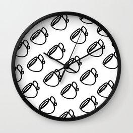 The Coffee Cup IIII Wall Clock