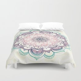 Mermaid Medallion Duvet Cover