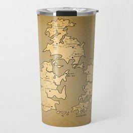 Gaia Midgar Final Fantasy VII Map Travel Mug