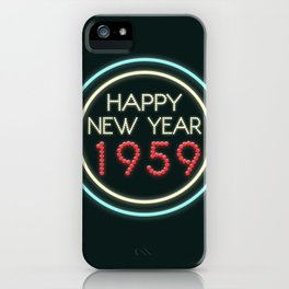 Happy New Year 1959! iPhone Case