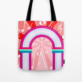 Musical Notes Archway Tote Bag