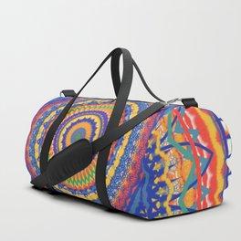 Festive Mandala Duffle Bag