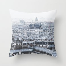 Rooftops Throw Pillow