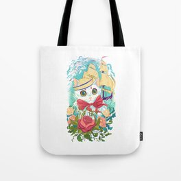 Sailor Kitty Tote Bag