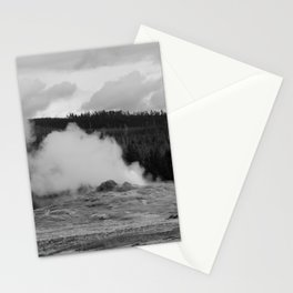 Old Faithful Steaming Stationery Cards