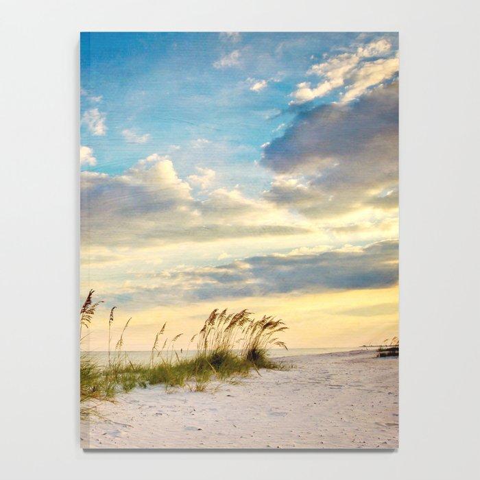 Sea Oats Beach Sunset Notebook