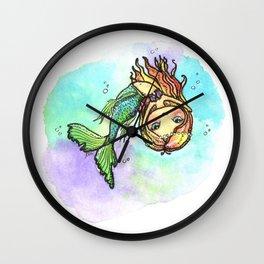 Dancing Mermaid Wall Clock