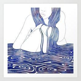 Nereid XLII Art Print